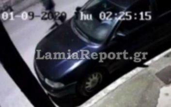 Λαμία: Η κάμερα «τσάκωσε» 15χρονο που είχε ρημάξει καθρέπτες αυτοκινήτων