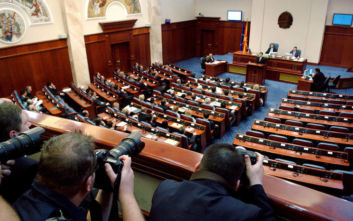 Σκόπια: Η υπηρεσιακή κυβέρνηση έλαβε ψήφο εμπιστοσύνης