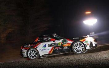 Το Abarth 124 rally στο Rally Montecarlo