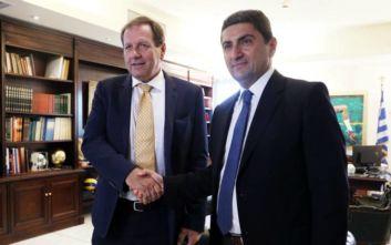 Αυγενάκης: Σύντομα η ΑΕΚ θα μπει στο νέο σπίτι της