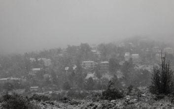 Κακοκαιρία Ηφαιστίων: Αποχωρεί με χιόνια, καταιγίδες και θυελλώδεις ανέμους