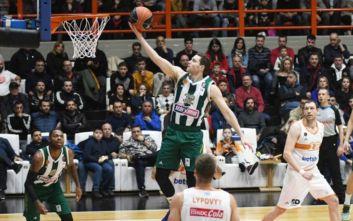 Basket League: Επιβλητικός στην Πάτρα ο Παναθηναϊκός