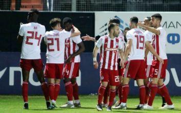 Super League 1: Πέρασε από το Ηράκλειο ο πρωτοπόρος Ολυμπιακός