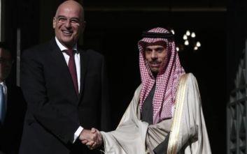 Δένδιας: Η Σαουδική Αραβία συμφωνεί πως τα μνημόνια Τουρκίας - Λιβύης είναι άκυρα