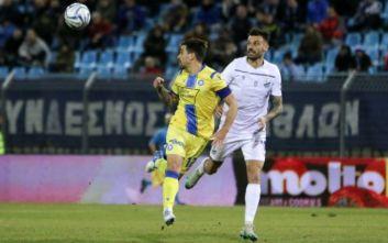 Super League 1: Ο Αστέρας Τρίπολης πήρε βαθμό στο 91' στη Λαμία