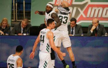 Basket League: Ο Παναθηναϊκός διέλυσε τον ΠΑΟΚ