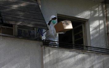 Αστυνομική επιχείρηση εκκένωσης κτιρίου στην οδό Λιοσίων με 10 προσαγωγές