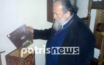 Έκλεψαν 1.300 ευρώ από τα παγκάρια στο ναό του Αγίου Αθανασίου στην Αμαλιάδα