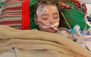 Η γρίπη παραλίγο να κοστίσει τη ζωή 4χρονης, το κορίτσι έχασε την όρασή του