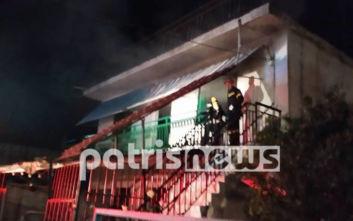 Ένας νεκρός από πυρκαγιά σε σπίτι στην Αμαλιάδα