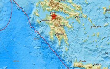 Διπλός σεισμός τώρα στην Αχαΐα