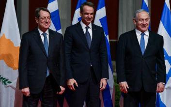 Μητσοτάκης για EastMed: Αναβαθμίζει τον γεωστρατηγικό ρόλο Ελλάδας - Μας καθιστά κρίσιμο παίκτη στην περιοχή