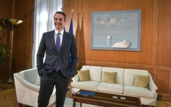 Ολοκληρώνεται ο κύκλος των συναντήσεων του Κ. Μητσοτάκη με τους πολιτικούς αρχηγούς