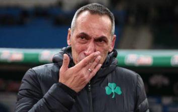Δάκρυσε ο Γιώργος Δώνης: Οι εικόνες με το ξέσπασμα του προπονητή του Παναθηναϊκού