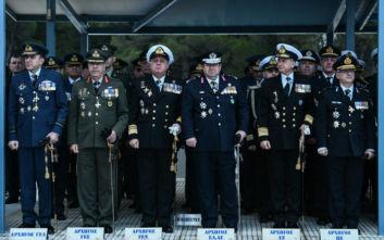 Αλλαγή φρουράς στο ΓΕΕΘΑ, έγινε η τελετή παράδοσης-παραλαβής
