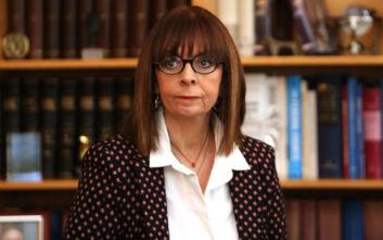 Κατ' ιδίαν συνάντηση της Κατερίνας Σακελλαροπούλου με τον απερχόμενο Πρόεδρο της Δημοκρατίας