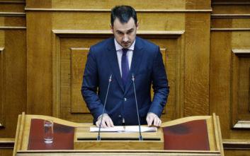 Χαρίτσης: Η κυβέρνηση καταργεί την αρχή της αναλογικότητας στην Αυτοδιοίκηση