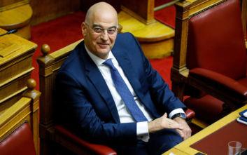 Ο Νίκος Δένδιας θα είναι ο πρώτος υπουργός που θα ταξιδέψει στο εξωτερικό μετά την πανδημία