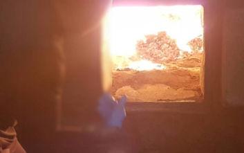 Χανιά: Μεγάλες ποσότητες ναρκωτικών καταστράφηκαν στην πυρά