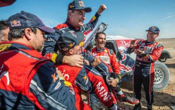 Ο Κάρλος Σάινθβασιλιάς της ερήμου και στο Rally Dakar 2020