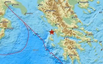 Σεισμός τώρα στη Λευκάδα