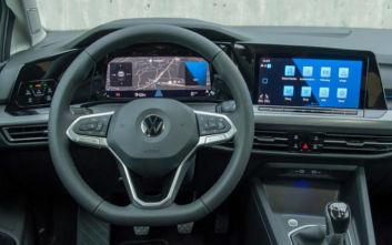 Το Innovision Cockpit στον βασικό εξοπλισμό του νέου Golf
