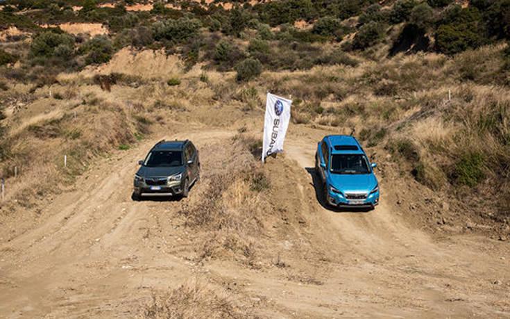 Οδηγούμε τα Forester και EV e-boxer της Subaru 9