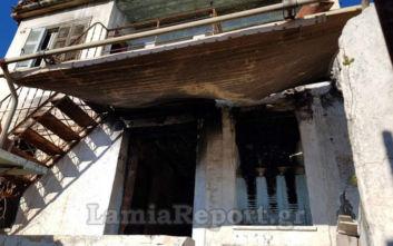 Λαμία: 36χρονος άναψε φωτιά για να ζεσταθεί και κάηκε ζωντανός