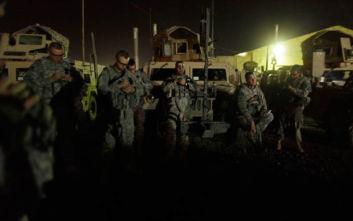 Νέα ένταση στη Μέση Ανατολή: Τουλάχιστον 1 πύραυλος έπεσε κοντά σε βάση Αμερικανών στο Ιράκ