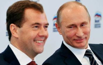 Ρωσία: Παραιτήθηκε η κυβέρνηση με πρωθυπουργό τον Ντιμίτρι Μετβέντεφ