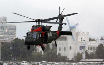 Ταϊβάν: Αναγκαστική προσγείωση ελικοπτέρου, αγνοείται ο αρχηγός του γενικού επιτελείου