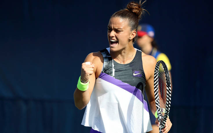 Η Σάκκαρη προκρίθηκε στον 3ο γύρο του US Open