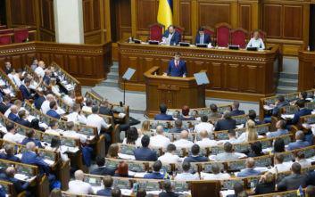 Την παραίτησή του υπέβαλε ο πρωθυπουργός της Ουκρανίας, Ολέξι Οντσαρούκ