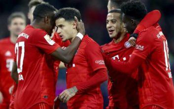 Bundesliga: Η Μπάγερν διέσυρε την Σάλκε και είναι στο -1