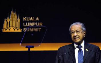 Ο πρωθυπουργός της Μαλαισίας καλεί τις μουσουλμανικές χώρες να ενωθούν απέναντι σε «εξωτερικές απειλές»
