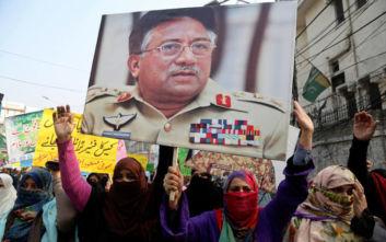 Πακιστάν: Η δικαιοσύνη ακύρωσε την ερήμην θανατική καταδίκη του Μουσάραφ