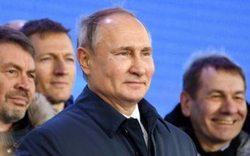 Δοκιμαστική εκτόξευση υπερηχητικού πυραύλου κοντά στην Κριμαία παρακολούθησε ο Πούτιν