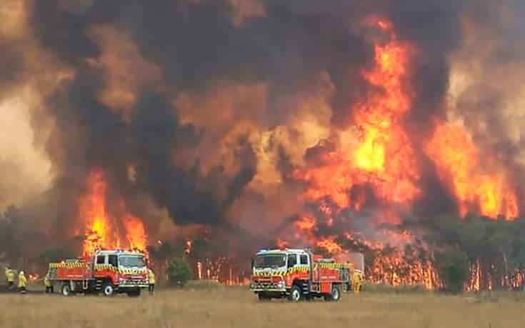 Χάος στην Αυστραλία: Αναγκαστική εκκένωση περιοχών λόγω των πυρκαγιών
