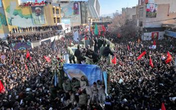 Τραγωδία στην κηδεία του Κασέμ Σουλεϊμανί: 50 οι νεκροί από το ποδοπάτημα