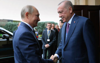 Πούτιν – Ερντογάν: Δύο ώρες κράτησε η συνάνάτησή τους, τι συζητήθηκε