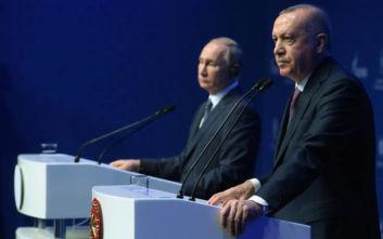 Ερντογάν και Πούτιν ζητούν κατάπαυση του πυρός στη Λιβύη