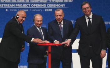 Βούτσιτς για τον Turkish Stream: Στρατηγικής σημασίας ο αγωγός για τη Σερβία