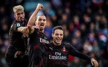 Ζλάταν Ιμπραΐμοβιτς: Το πρώτο του γκολ μετά την επιστροφή στη Μίλαν