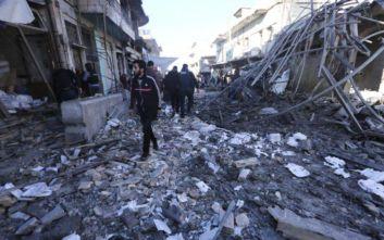 Έχουν εκτοπιστεί 38.000 άνθρωποι σε πέντε ημέρες στη βορειοδυτική Συρία