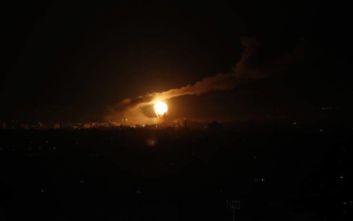 Ισραηλινά αεροσκάφη έπληξαν θέσεις της Χαμάς στη Λωρίδα της Γάζας