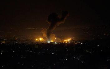 Νυχτερινοί βομβαρδισμοί της ισραηλινής αεροπορίας στη Λωρίδα της Γάζας