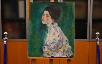 Κηπουρός βρήκε το «Πορτρέτο Κυρίας» του Κλιμτ που είχε κλαπεί πριν από 20 χρόνια