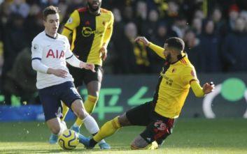 Premier League: «Κόλλησε» ξανά η Τότεναμ