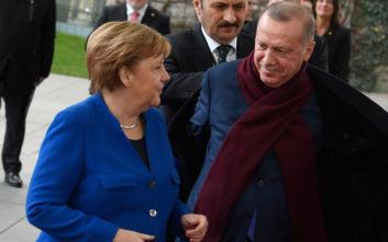 Συνομιλίες Μέρκελ - Ερντογάν στην Κωνσταντινούπολη