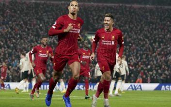 Premier League: Η Λίβερπουλ... τιμώρησε τη Γιουνάιτεντ με Φαν Ντάικ και Σαλάχ